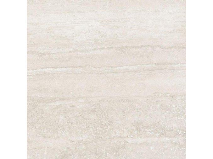 Antica Ceramica Travertino Memento Bianco 60x60 cm naturale rektifikovaná