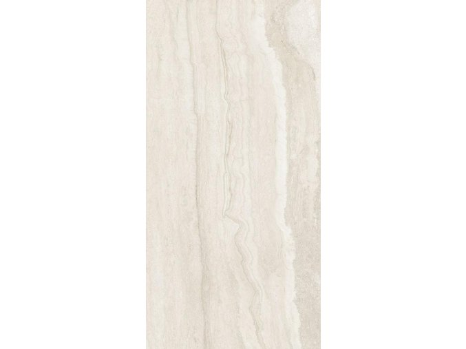 Antica Ceramica Travertino Memento Bianco 80x160 cm levigato rektifikovaná