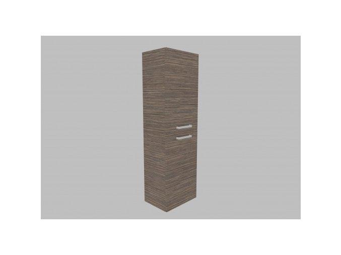 Krajcar KNP1.45.24.24 Vysoká skříňka borovice patina pravá
