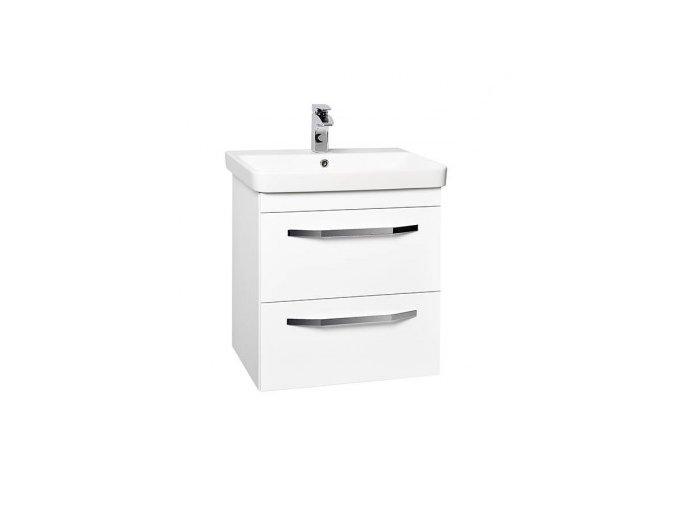 Krajcar LX-Luxury Koupelnová skříňka s keramickým umyvadlem 60x46x65 cm, LX60