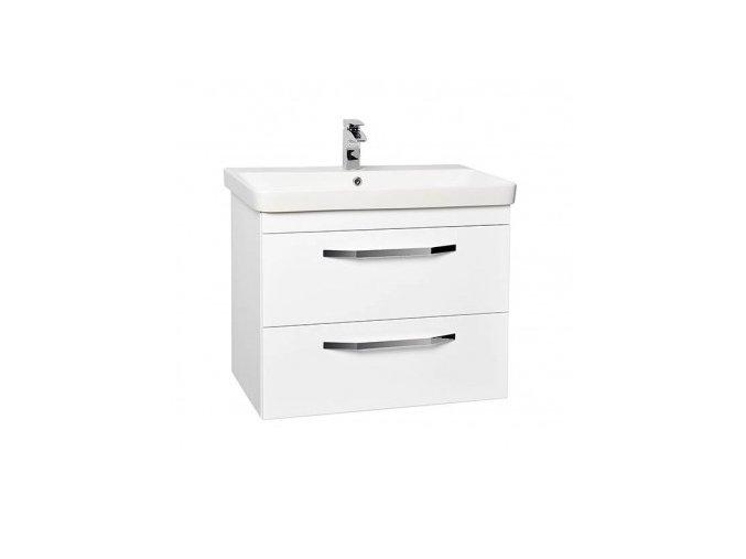 Krajcar LX-Luxury Koupelnová skříňka s keramickým umyvadlem 80x46x65 cm, LX80