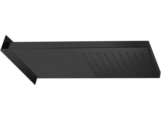 Sanjet BLACK A562NO Sprcha černá matná, 50x20x3 cm