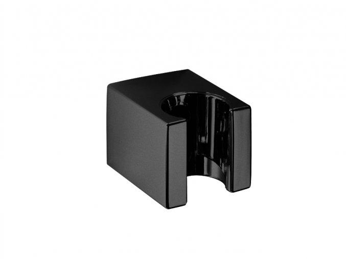 Sanjet QUADRO E120002B Držák sprchy 3,5x3cm, černá
