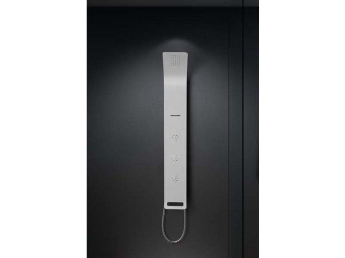 Sanjet ASTREA WHITE ASPN   Sprchový panel s pákovou baterií