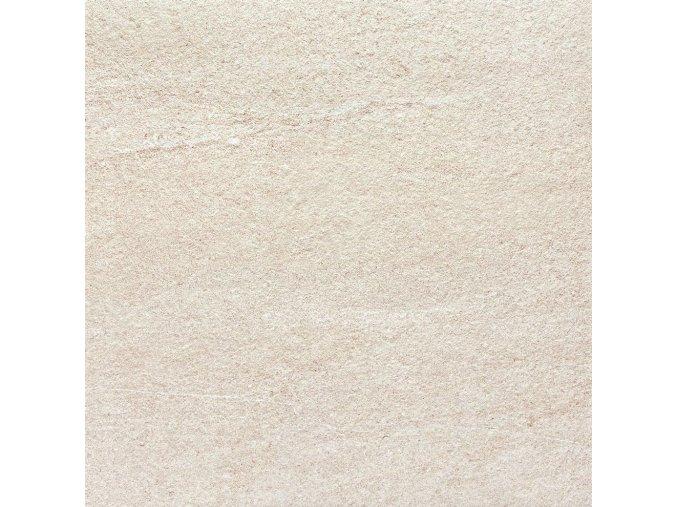 Rako Quarzit Outdoor DAR66735 | Dlaždice 60x60x2 cm, béžová