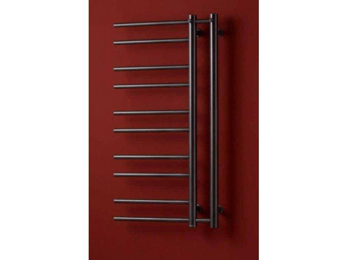 PMH Theia T2GB L   Koupelnový radiátor 50x154cm šedobéžový