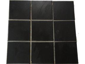 Rako Color Two GAA0K048 Mozaika, černá, 10x10cm 2
