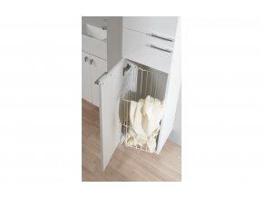 LEBON Q57 koš na prádlo, bílá, 270018852500020001