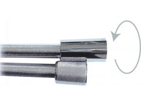 Geos 6690C.CR.150 Sprchová hadice s otočným konusem