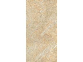 Cotto Petrus Fossili giallo 31x62 cm naturale