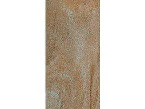 Cotto Petrus Fossili ruggine 31x62 cm naturale