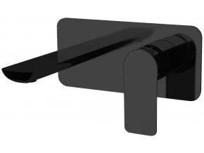 Sanjet INFINITY BLACK I15NO Umyvadlová podomítková baterie