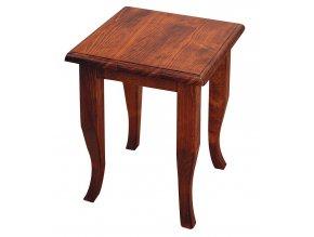 Sapho RETRO 1677 Koupelnová stolička 33x45x33cm, buk