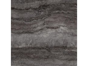 Antica Ceramica Travertino Memento Black 60x60 cm naturale rektifikovaná