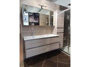 Riho PORTO SET36:DP4 | Koupelnový nábytek, dub šedý