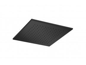 Sanjet BLACK E044070B | Sprcha čtverec 40x40x1,2 cm, mosaz