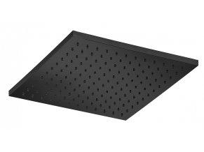 Sanjet E044122B | Sprcha čtverec černá 30x30 cm, mosaz
