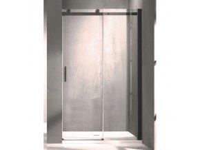Hopa BELVER BLACK BCBELV12BC | Sprchové dveře 120x195cm