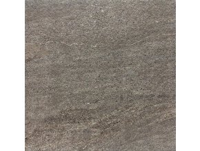 Rako Quarzit Outdoor DAR66736 | Dlaždice 60x60 cm, hnědá