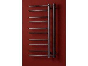 PMH Theia T2GB L | Koupelnový radiátor 50x154cm šedobéžový