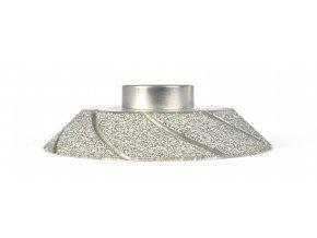 Montolit FPE15TP | Diamantový brusný kotouč medium, 45º