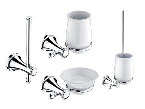 Nimco LADA | Set koupelnových doplňků z mosazi