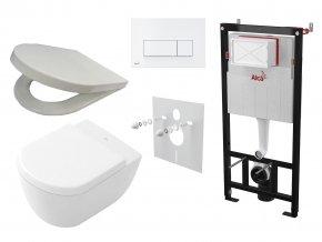 Alcaplast Sádromodul + WC a sedátko, tlačítko M570