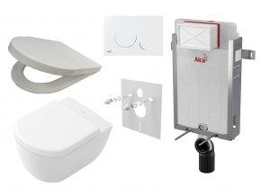 Alcaplast Revnomodul set + WC a sedátko, tlačítko M670