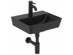 Ideal Standard CUBE E0307V3   Umývátko 40x35 cm, černá