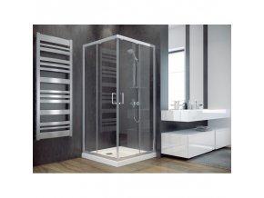 Hopa MODERN185 | Čtvercový sprchový kout 90x90 cm, čiré