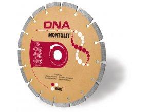 Montolit LX115   Segmentový diamantový kotouč DNA 115 mm