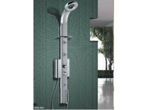 Sanjet Senza New sprchový panel termostatickou baterií, nástěnný