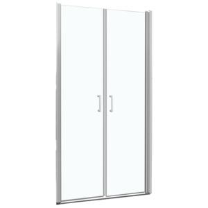 Dvoukřídlé sprchové dveře do niky