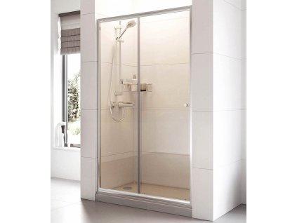 ROSS-Posuvné sprchové dveře ROSS Relax 130 | koupelnyross