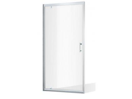 ROSS ALFA NEW 90x185 cm, jednokřídlé sprchové dveře | koupelnyross