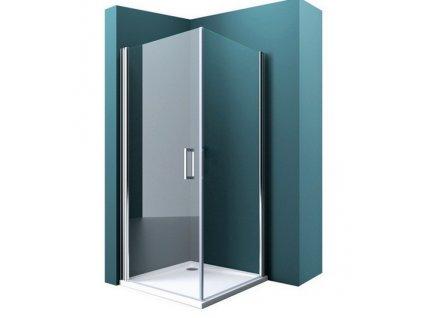 Atlanta 90x90 - čtvercový sprchový kout s vaničkou z litého mramoru   koupelnyross
