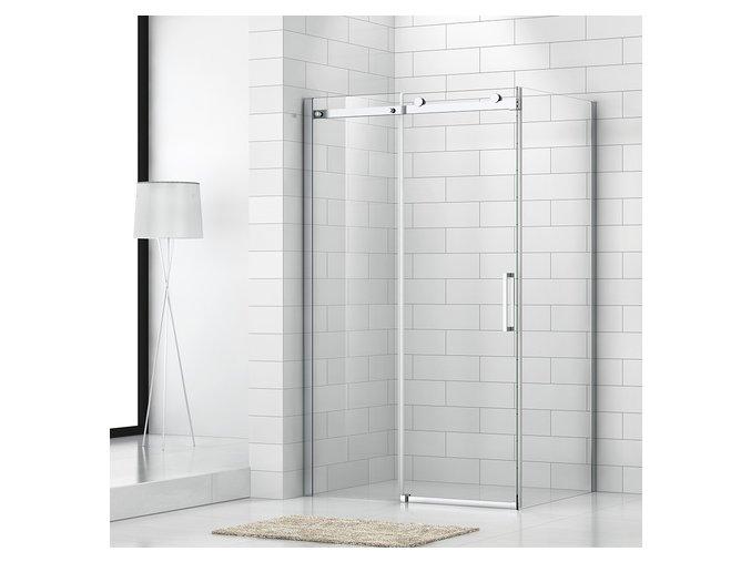 Obdélníkový sprchový kout ROLER 1400x800 mm, posuvné dveře   koupelnyross.cz
