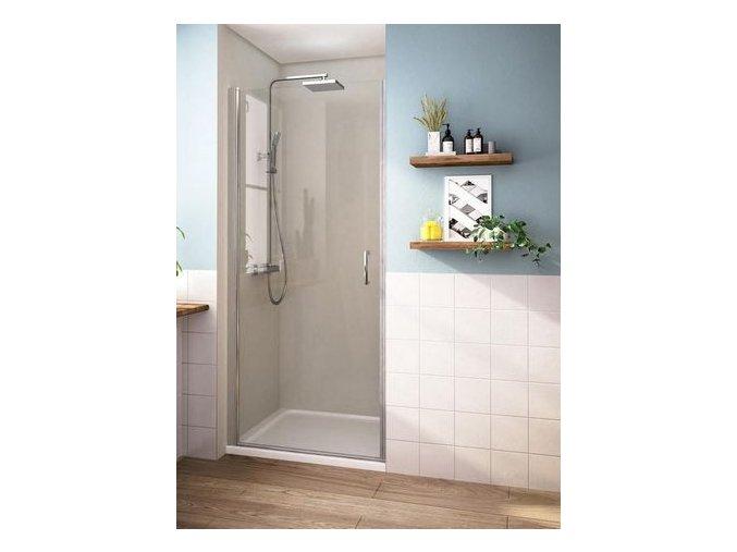 ROSS ALORE 85x190cm - jednokřídlé sprchové dveře 81-86cm   koupelnyross.cz