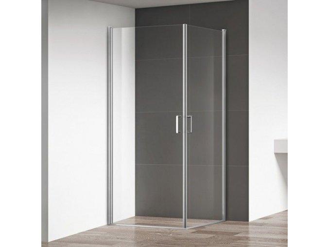 Boston 100x100 - čtvercový sprchový kout | koupelnyross.cz