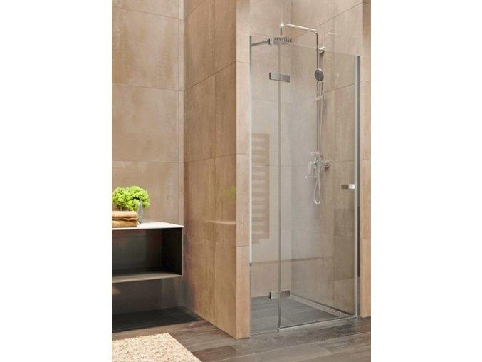 Nova 90x200 cm sprchové jednokřídlé dveře levé | koupelnyross.cz