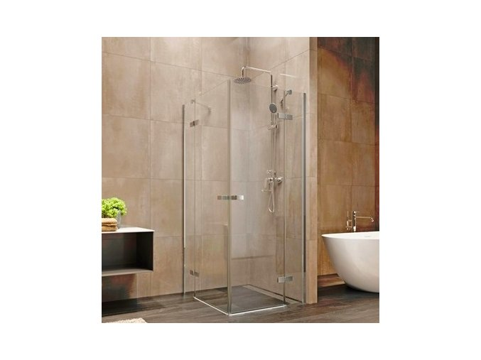 Nova sprchový kout čtvercový 120x120x200 cm, čiré sklo 6 mm | koupelnyross.cz