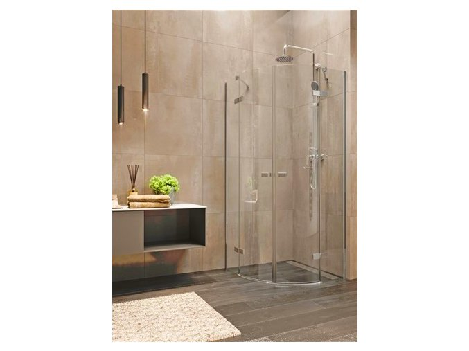 Nova sprchový kout, R 550, 90x90x200 cm, čiré sklo 6 mm | koupelnyross.cz