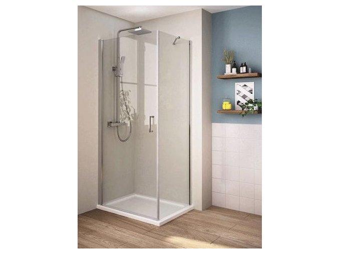 Perfekt 90x90 - čtvercový sprchový kout | koupelnyross.cz