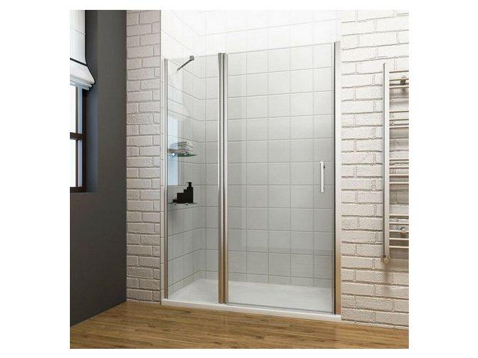 ROSS Luxury 85x190cm - jednokřídlé sprchové dveře 81,5-86,5 cm | koupelnyross.cz