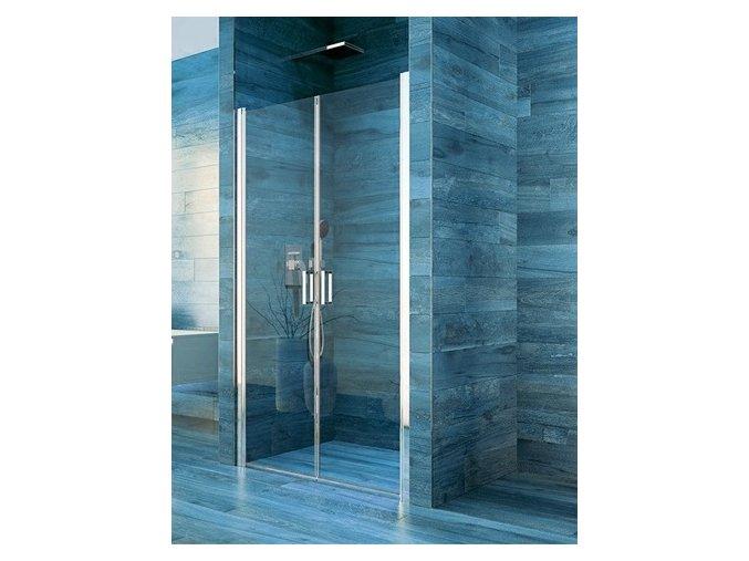 Sprchové dvoukřídlé dveře COOL 100 cm | koupelnyross.cz