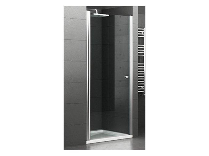 ROSS Mono 75x195 cm -  jednokřídlé sprchové dveře 75-80 cm   koupelnyross.cz
