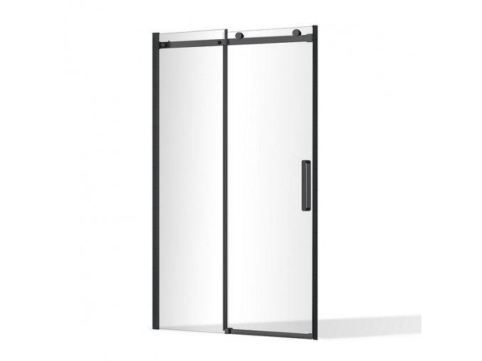 Posuvné sprchové dveře Nero Lux 1200 mm   Koupelnyross.cz
