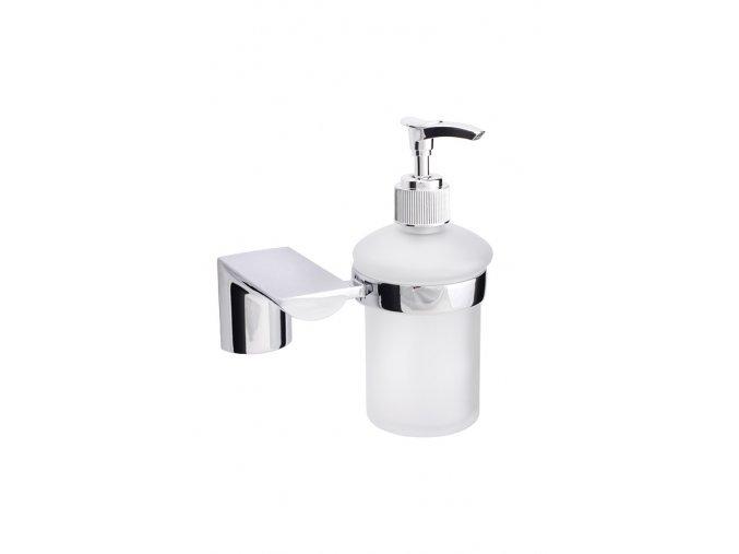 Dávkovač tekutého mýdla, sklo 180 ml, série Dagmar | koupelnyross.cz