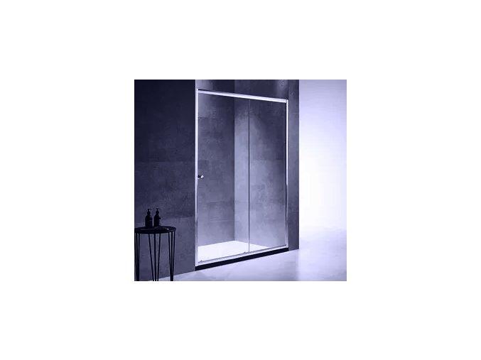 Posuvné sprchové dveře ROSS Luxo 120   koupelnyross.cz
