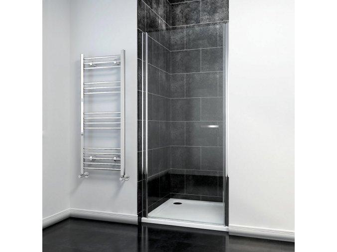 Premium R1 90x195 cm - jednokřídlé sprchové dveře 86-91 cm   koupelnzross.cz